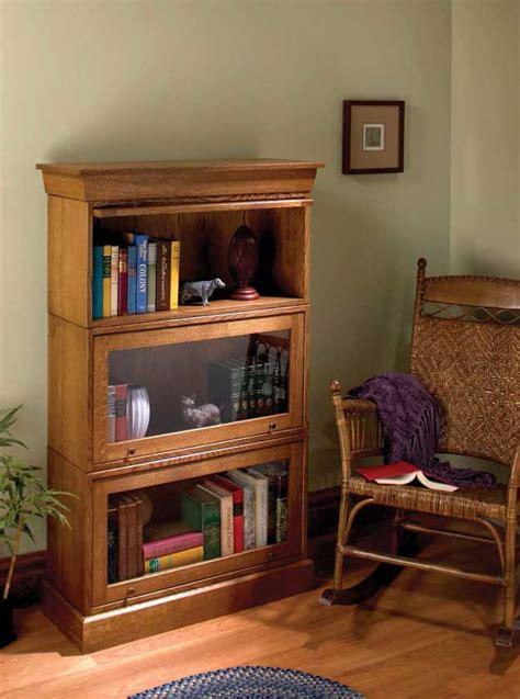 simple barrister bookcases popular woodworking magazine