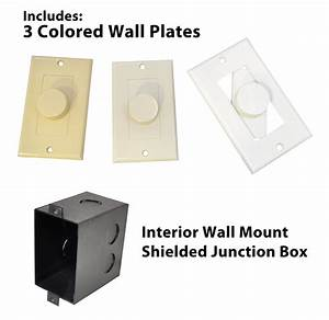 Amazon Com  Pyle Home Pvckt5 Wall Mount Rotary Volume