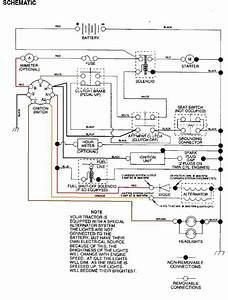 Craftsman Lt2000 Wiring Diagram  2  With Images