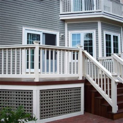 deck skirting ideas other than lattice 1000 ideas about porch lattice on front porch