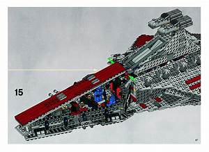 Lego Star Wars The Clone Wars Republic Attack Cruiser ...