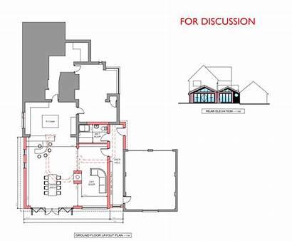 Extension Plans Making Planning Plan Floor Kitchen
