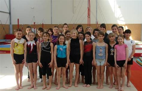 le club de gymnastique artistique de six fours fait sa