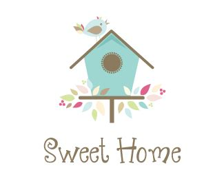 sweet home logo design hourslogocom