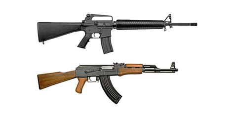 ar 15 vs ak 47 accuracy showdown