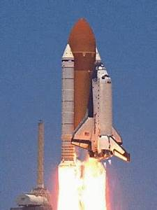 Animated Space Shuttle Gif