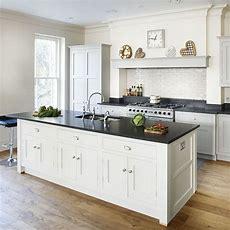 Cream And Wood Kitchen  Traditional Kitchen Design Ideas