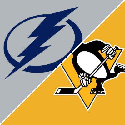 lightning  penguins box score november   espn