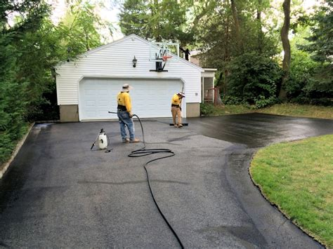 Millburn Driveway Sealing And Asphalt Repair With Titan
