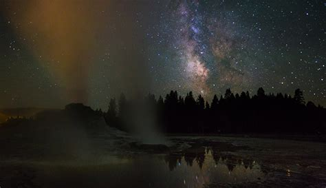 4 Best Places To Gaze At Starry Night Skies In Yellowstone