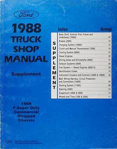 1988 Ford Truck Repair Shop Manual Set F150 F250 F350