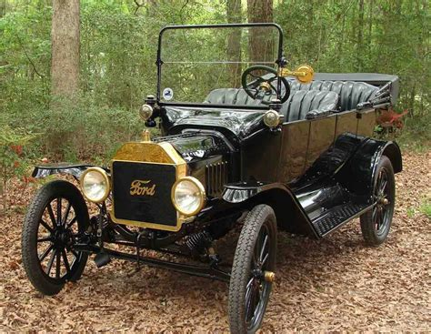 He's Bought His First Ford Model T…  The Ford Model T