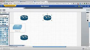 Draw Network Diagrams Online  With Cisco Stencils