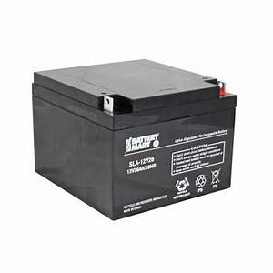 Batterie 12 Volts : 12 volt 26 ah sealed lead acid rechargeable battery ~ Farleysfitness.com Idées de Décoration