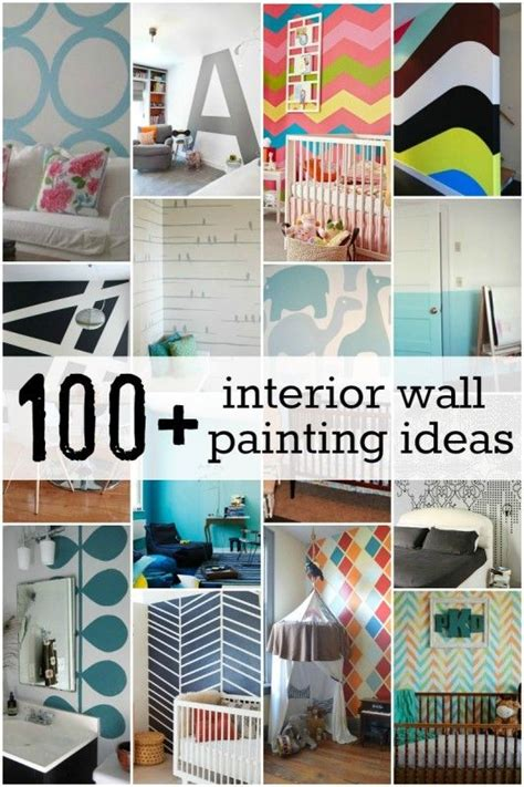 Ideen Zum Wand Streichen  Wand  Pinterest  Haus, Wände