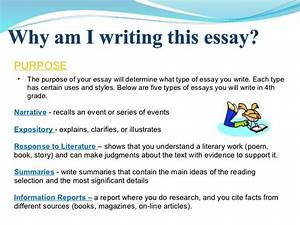 what is the purpose of a template - essay writing power point 1