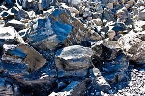 Blue Obsidian Rock