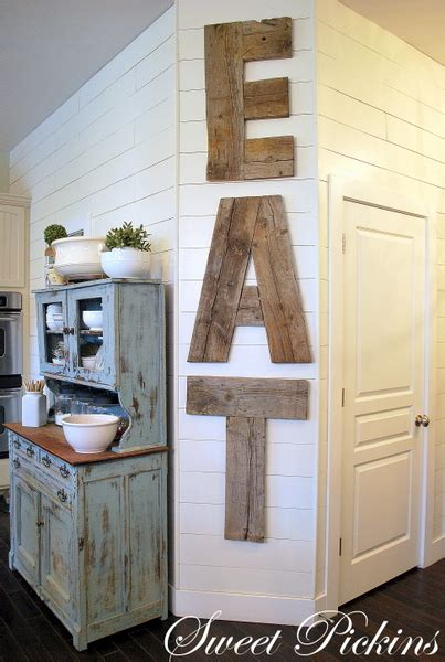 differentact normal diy reclaimed wood kitchen sign