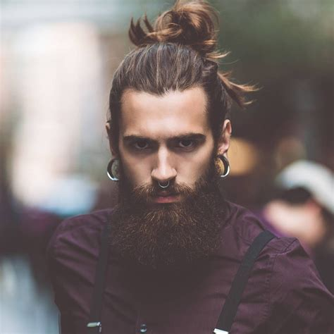cool men s hairstyles with beards