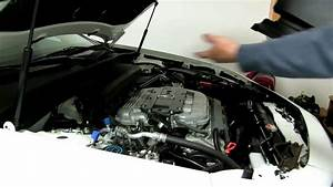 How To Remove And Install The Engine Bay Cover On Acura Tl