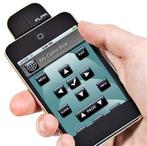 iphone remote flipr iphone universal remote