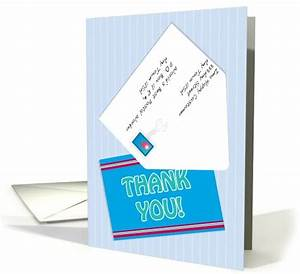 thank you letter carrier postal worker mailman card 556181 With letter carrier thank you cards