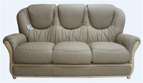 How To Clean A Leather Settee by Juliet 3 Seater Coffee Milk Italian Leather Sofa Settee
