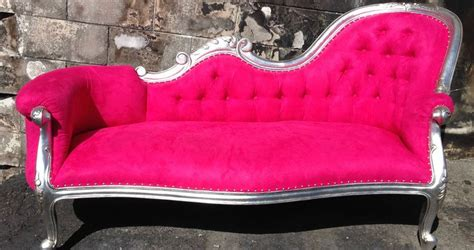 Pink Sofa Promo Code by Rockstar Pink Chaise Lounge Chesterfield Sofa