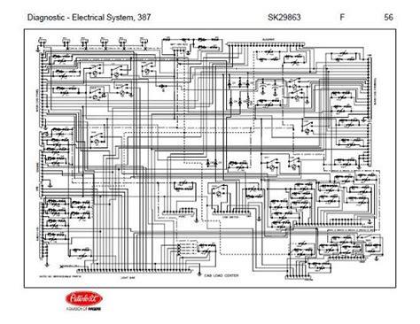 Peterbilt Wiring Harnes Diagram by After Oct 14 2001 Peterbilt 387 Complete Wiring Diagram