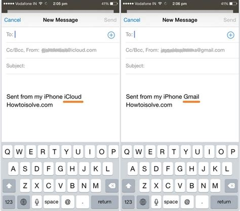 iphone text signature change iphone mail signature sent from my iphone ios