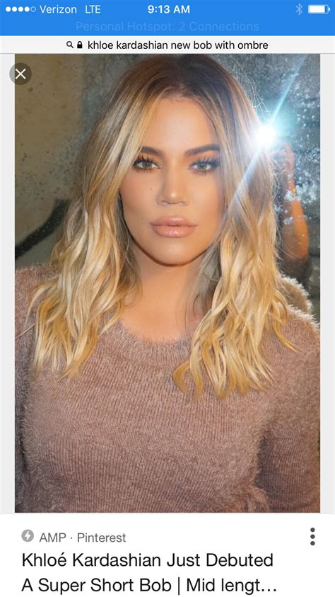 Pin by Stacy Elizabeth Styling on Now Hair This! | Khloe ...