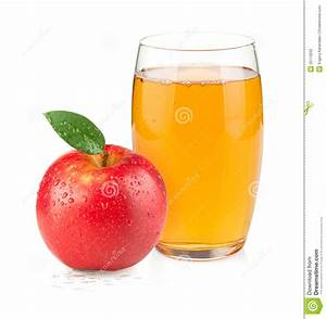 Glass Of Apple Juice Clipart - ClipartXtras