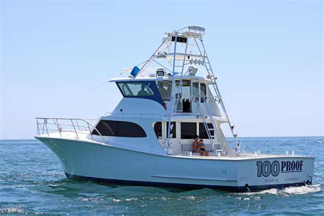 destin charter boat  proof charters