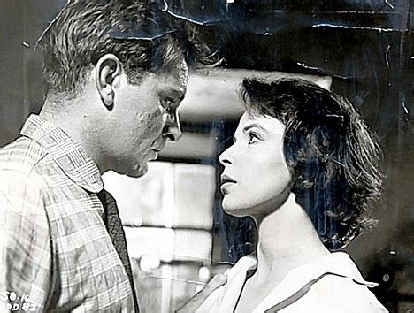 richard burton with claire bloom in look back in anger