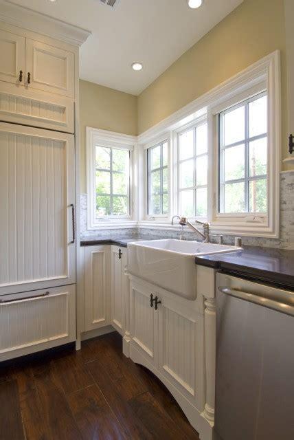 Beadboard Kitchen Cabinets   Traditional   kitchen