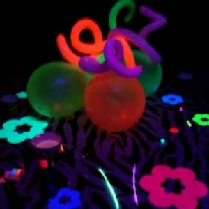 17 Best images about Neon nights 21st birthday ideas on