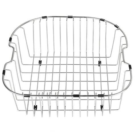 kitchen sink wire basket kraus stainless steel rinse basket for kitchen sink 6036