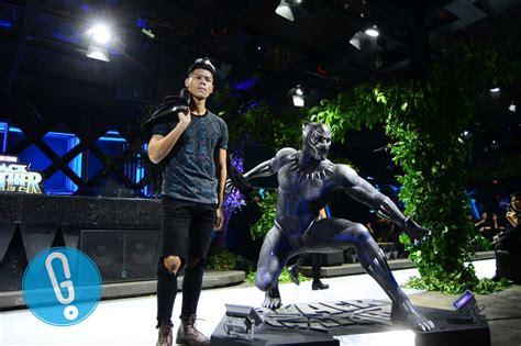 seniman indonesia rilis batik gaya baru bertemakan black panther genmuda