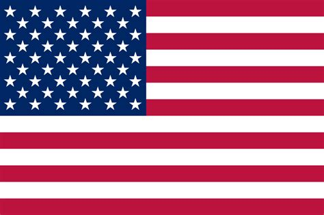 Flag Of The United States (3-2 Aspect Ratio).svg