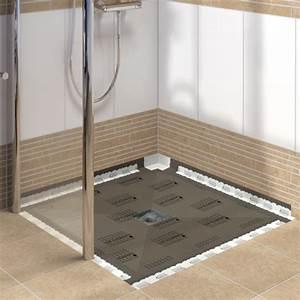 Bodengleiche Dusche Mit Faltbarer Duschabtrennung : lux elements tub bodengleiche duschb den zur punktentw sserung ~ Orissabook.com Haus und Dekorationen