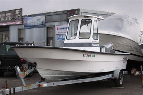 Maritime Skiff Boat Dealers by 1998 Maritime Skiff 2090 W Pilot House Sold The