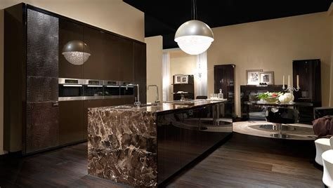 kitchen interiors design fendi casa ambiente cucina kitchens by luxury living 1829