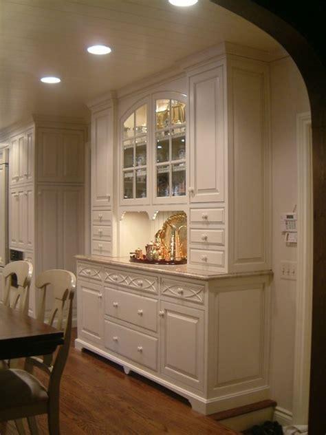 kitchen hutch ideas kitchen hutch traditional kitchen detroit by m b wilson interior design