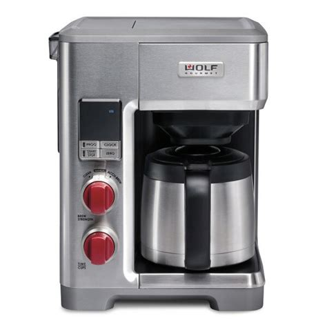 Drip coffee makers rely on electricity for normal functioning. Wolf Gourmet 10-Cup Automatic Drip Coffee Maker & Reviews | Wayfair