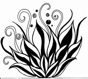 Lotus Flower Line Drawing - Cliparts.co