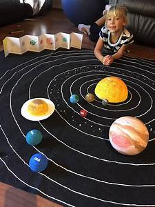 Diy Model Of Our Solar System