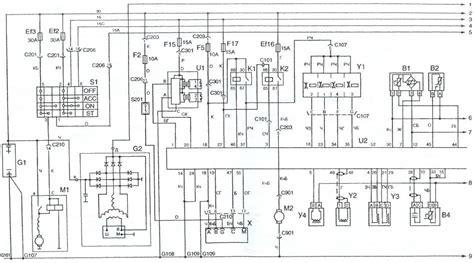 elektroskhema deu sens skhema elektrooborudovaniya