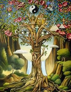 love tree hippie boho peace ying yang enjoylifeclub •