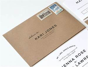 modern wedding invitation envelope addressing matik for With envelope style wedding invitations uk