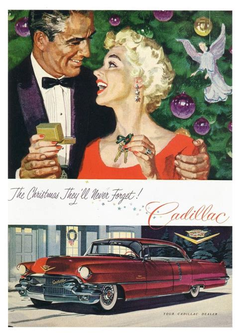 christmas madness  classic car ads   holiday theme